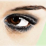 Mooie eyeliner look
