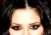 Orange smokey eye prachtig bij donker gekleurde ogen