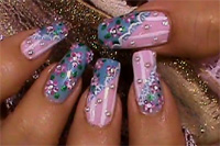 Je nagels in een vrolijke lente look