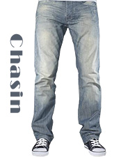 Stoere Crown Respond jeans van Chasin