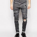 Ripped jeans voor mannen